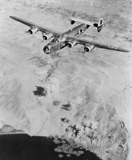 B-24 of the 464h Bomb Group