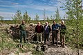 4Y1A2287 Finnish volunteers who take care of war memorials in Summa battlefield in Russia (34286589653).jpg