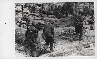 Operation Napoleon/Saline - Marines return from patrol during Operation Napoleon/Saline