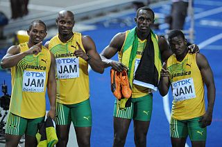 4 × 100 metres relay at the World Championships in Athletics
