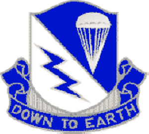507th Parachute Infantry Regiment (United States) - Distinctive unit insignia of the 507th Infantry Regiment