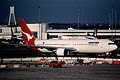 68ae - Qantas Boeing 767-338ER; VH-OGB@SYD;25.08.1999 (5363501846).jpg