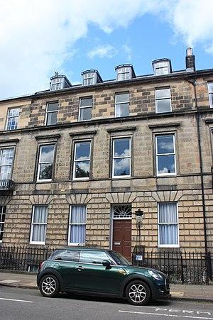 Henry Mackenzie - Mackenzie's house at 6 Heriot Row, Edinburgh