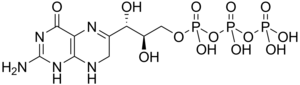 7,8-Dihydroneopterin triphosphate - Image: 7,8 Dihydroneopterin triphosphate