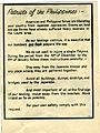77-171-G Leaflet, Philippines, World War II (9372775738).jpg