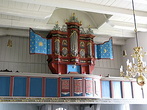 Jürgen Ahrend - Image: 8072676 Westerhusen Orgel