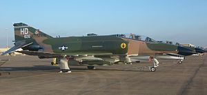 82d Aerial Targets Squadron - Det. 1 82nd ATRS McDonnell QF-4E Phantom II at the Wings Over Houston Airshow October 2007