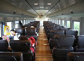 Kamome - Interior of 885 series Kamome