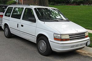 Plymouth Voyager - 1992-1993 Plymouth Voyager