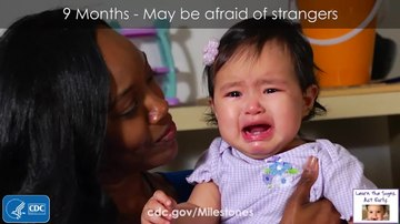File:9 Month Milestone- May be afraid of strangers.webm