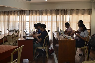 9th Waray Wikipedia Edit-a-thon 14.JPG