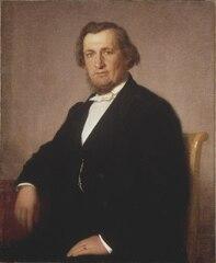 Portrait of A.O. Wallenberg, 1816-86