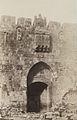 A. Salzmann - Porte Saint Étienne, vue extérieure - Jerusalem.jpg