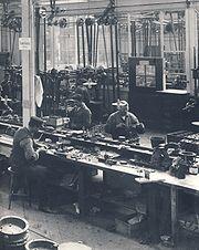 AGA Fabrik 1910