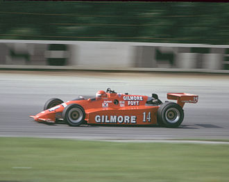 A. J. Foyt - Foyt racing at Pocono in 1984