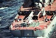 ARKR Kalinin flight deck with Ka-25 and Ka-27