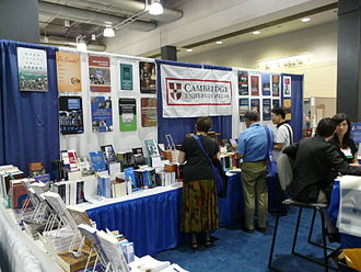 Cambridge University Press - 2008 conference booth