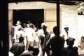 ASC Leiden - Coutinho Collection - G 25 - Life in Ziguinchor, Senegal - People in office backyard - 1973.tif