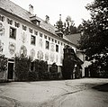 A Landschloss Ort udvara. Fortepan 83964.jpg