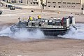 A U.S. Navy landing craft, air cushion assigned to Assault Craft Unit 4 conducts operations while wrapping up exercise Eager Lion 2013 in Aqaba, Jordan, June 22, 2013 130622-M-ZC556-019.jpg