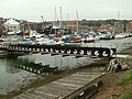 A bridge into the shipyard at Whitby - geograph.org.uk - 467873.jpg