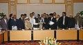 A delegation of representatives of MSME Association led by the Union Minister for Micro, Small & Medium Enterprises, Shri Mahabir Prasad calling on the Prime Minister, Dr. Manmohan Singh, in New Delhi on December 08, 2008 (1).jpg