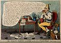 A foolish man kissing a ribbon and surrounded by sentimental Wellcome V0011316.jpg
