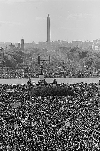 Million Man March - Image: A glimpse of the 1995 Million Man March from the recently cataloged Roll Call Photograph Collection (29984043675) (cropped)