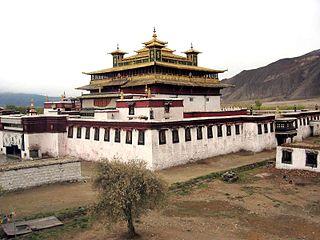 Samye Buddhist monastery in Tibet
