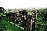 A monument inside Daulatabad Fort