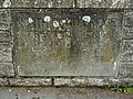 A plaque on North Road Bridge-Pilton Bridge on the River Yeo - geograph.org.uk - 1858577.jpg