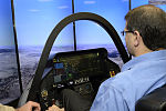 A virtual landing- F-35 simulator flies high in Israel (17165080952).jpg