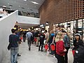 Aalto University students queueing to Otaniemi Alko.jpg