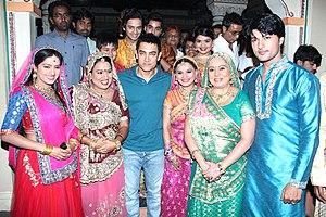 Satyamev Jayate (TV series) -  Aamir Khan promotes Satyamev Jayate on Diya Aur Baati Hum serial