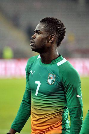 Abdul Razak (footballer) - Razak playing for Côte d'Ivoire in 2012