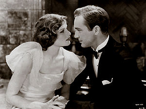 A Bill of Divorcement (1932 film) - Katharine Hepburn and David Manners in A Bill of Divorcement