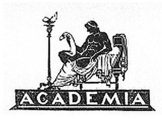 Academia (publishing house) - Academia logo