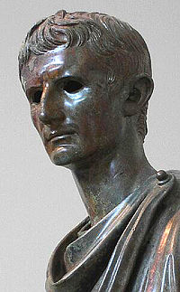 Bronze statue of Octavian, Archaeological Museum, Athens