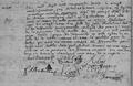 Acte du mariage de Nicolas Consigny et de Marie Lhabitant Lachapelle-en-Blaisy 29 janvier 1753.png