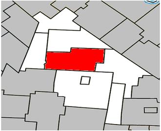 Acton Vale, Quebec - Image: Acton Vale Quebec location diagram
