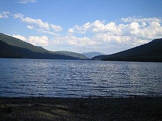 Adams Lake - South from Adams Lake Provincial Park.