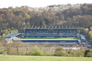 Adams Park - Image: Adams Park from a northerly direction
