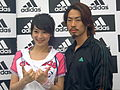 AdidasRunFor2008OlympicsInTaiwan Megan and Vanness.jpg