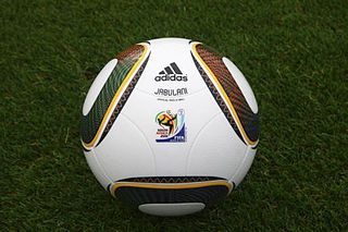 Adidas Jabulani official match ball for the 2010 FIFA World Cup