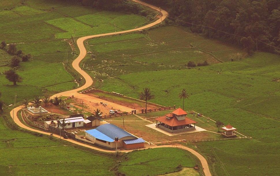 Aerial View Farm