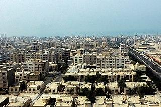City in Hormozgan, Iran