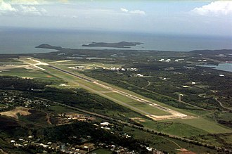 José Aponte de la Torre Airport - Aerial view of the former US Naval Air Station Roosevelt Roads, 1994.