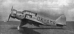 Aero A.200 photo L'Aerophile October 1934.jpg