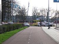 Afzetting van het 24 Oktoberplein, Utrecht op 18 maart 2019 na de tramaanslag die dag.jpg