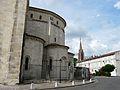Agen cathédrale abside et clocher Ste Foy.JPG